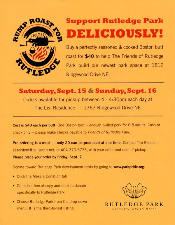 Rutledge Rump Roast Flyer