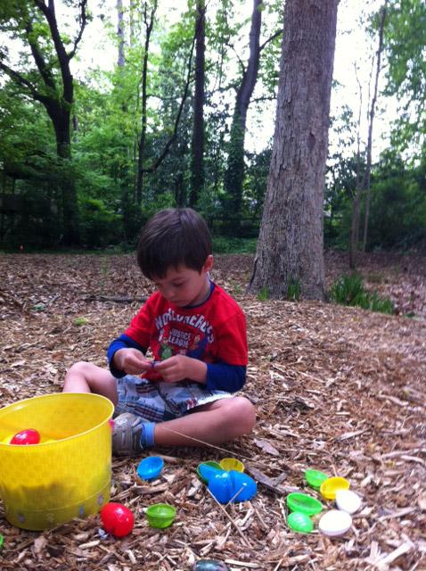 Rutledge Park Turtle Egg Hunt 2013